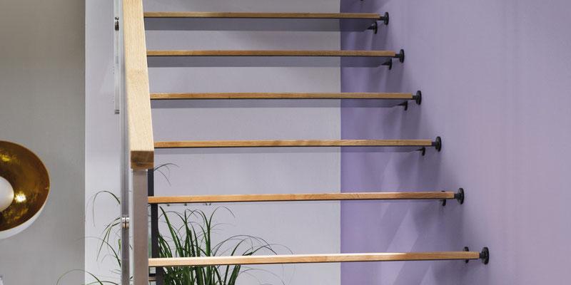 Bucher Treppen - Treppenmodell AIR - filigrane Anmutung