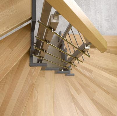 Bucher Treppen - Treppenmodell Ferro - mit Buche