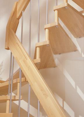 Detail VIVA Treppe von Bucher Treppen