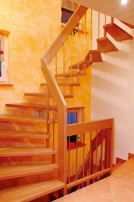 VIVA Treppe - Bucher Treppen aus Buche