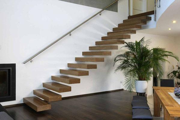 Bucher Treppen - Treppenmodell Ego - schlicht und direkt