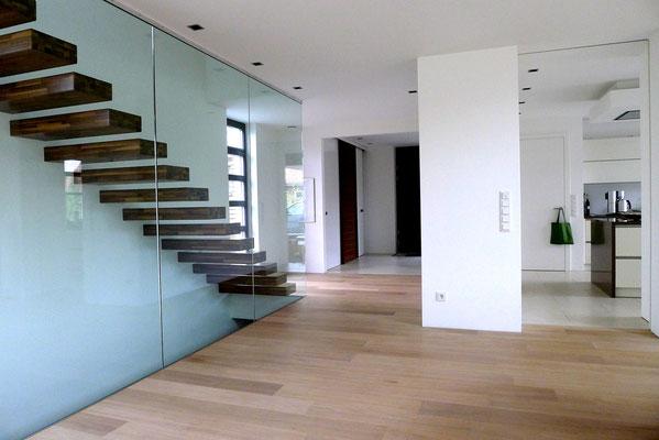 Bucher Treppen - Treppenmodell Ego - modern und klar