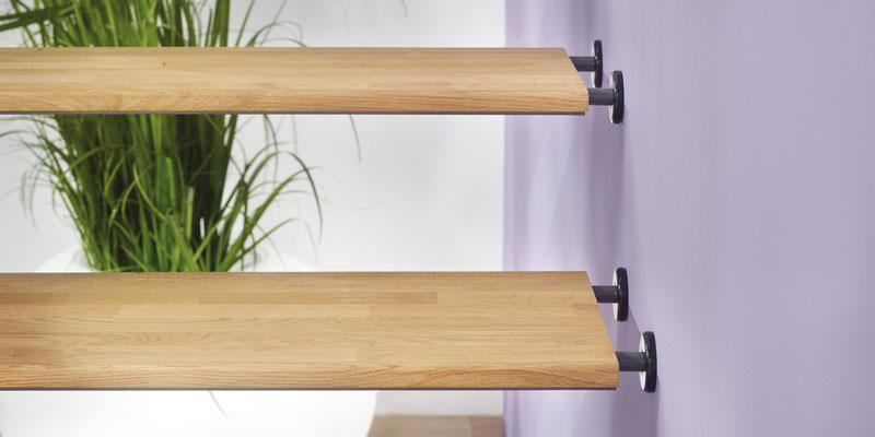 Bucher Treppen - Treppenmodell AIR - geprüfte Qualität