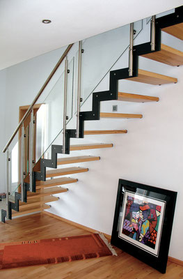 Bucher Treppen - Treppenmodell Ferro