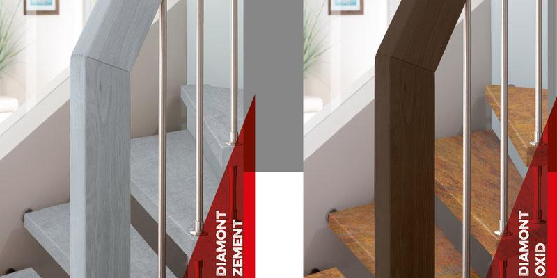 Bucher Treppen - DIAMONT Stufen - extra dünne Stufen