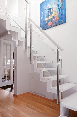 Bucher Treppen - Treppenmodell Ferro - pur und direkt