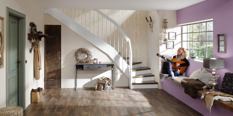 Bucher Treppen - Wangentreppen - schlicht und gemütlich