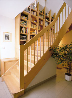 Bucher Treppen - Wangentreppen - wohnlich und warm