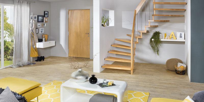 Viva-Treppe von Bucher Treppen - schlicht, praktisch und modern