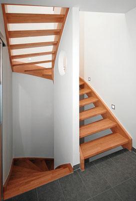 Bucher Treppen - Wangentreppen - einfach und schlicht