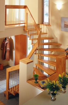 Treppenmodell VIVA - von Bucher Treppen