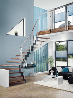 Bucher Treppen - Treppenmodell Ferro - modern und puristisch