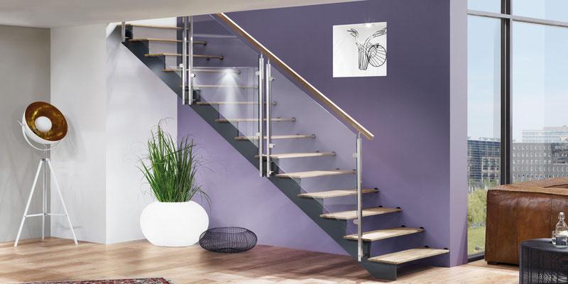 Bucher Treppen - Treppenmodell AIR