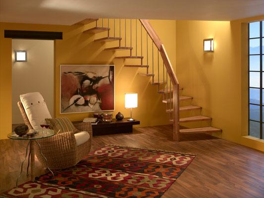 Viva-Treppe von Bucher Treppen