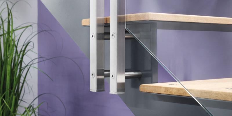 Bucher Treppen - Treppenmodell AIR - extra dünne Stufen