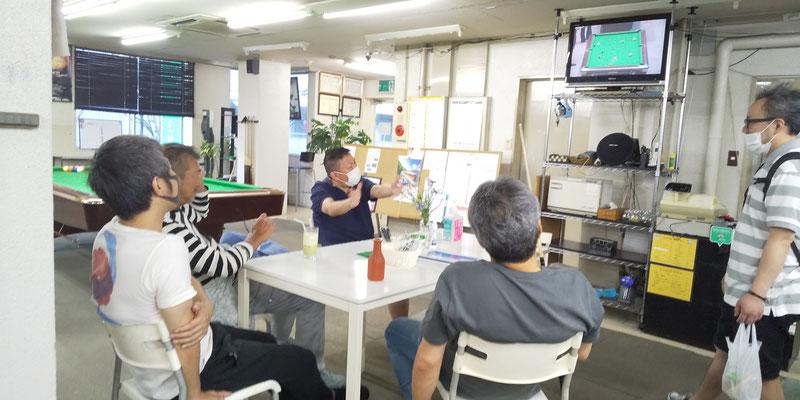 DVDやYoutubeを観て研究会(^^)