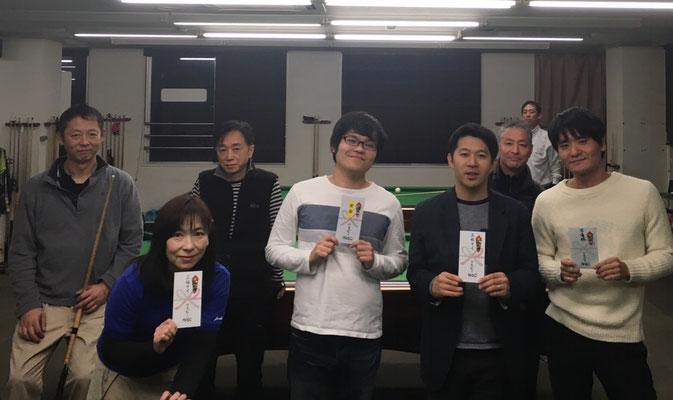 左から後列 辻さん 立木さん 田中さん 鈴木さん 前列 私 福本さん 平松さん 竹原さん