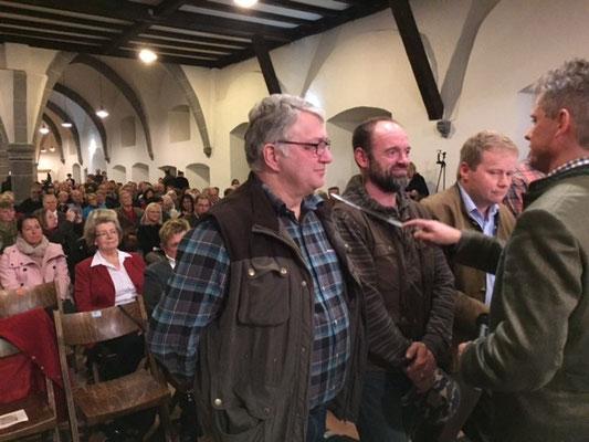 Hubertusmesse des Jagdvereins Hubertus Gießen im Kloster Arnsburg