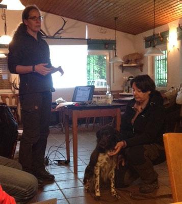 Erste Hilfe beim Hund im Jagdverein Hubertus Gießen und Umgebung e. V.