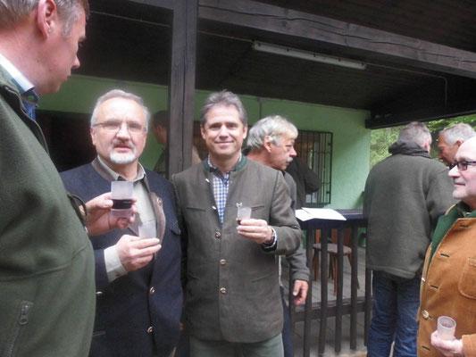 Prüfung Jungjäger Jagdverein Hubertus Gießen 2015