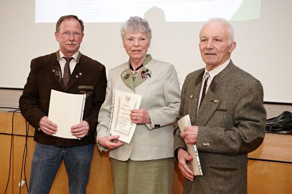 Ehrungen beim Jagdverein Hubertus Gießen 2015