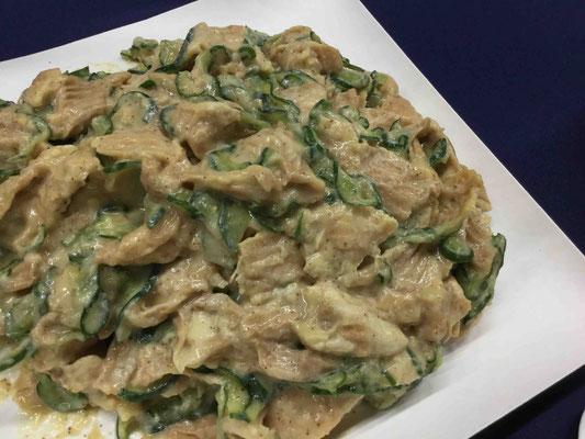 角麩の辛子和えは、福井の家庭の味