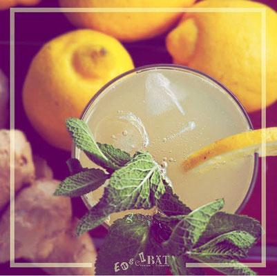 Hausgemachte Ingwer-Zitronen-Limonade