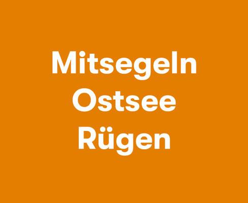 Mitsegeln Ostsee Rügen