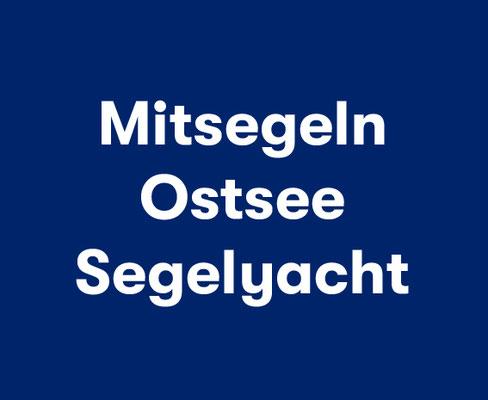 Segeltörn Ostsee Segelyacht Rügen