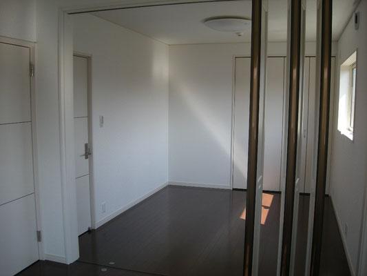 間仕切りが付き効率的にお部屋を使えます