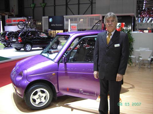 2007 Ausstellung des Reva am Autosalon Genf zusammen mit einem deutschen Unternehmer. Der Partner erwies sich dann bald als ungeeignet. Von diesen Fahrzeugen wurden gesamthaft von 2001 bis 2011 etwa 4'500 Stück verkauft. Ungefähr 50% in Indien und 50% in