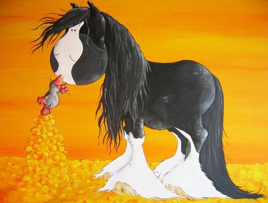 """Molehill"" - Shire Horse"