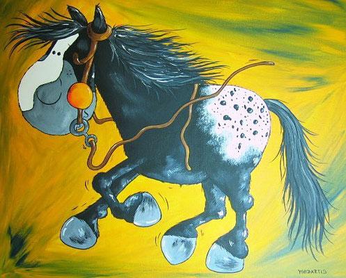 """""""Walker"""" - Leinwand 50 x 40 cm - Preis: 95,00 Euro"""