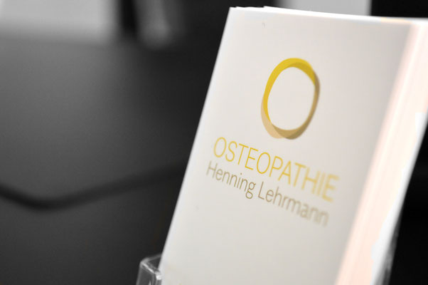 Visitenkarten Osteopathie Henning Lehrmann in 48268 Greven, www.osteopathie-lehrmann.de