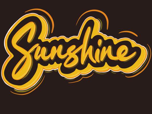 Simply-NeW-Art-Nelly-Wüthrich-Kehrli-Procreate-Lettering-Brushlettering-Sunshine-Graffiti-Brienz-Schweiz