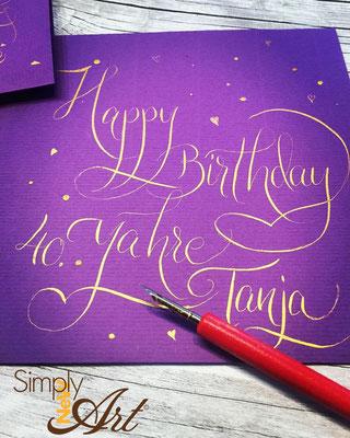 Simply-NeW-Art-Nelly-Wüthrich-Calligrphay-Handwritting-Birthday