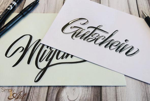SSimply-NeW-Art-Nelly-Wüthrich-Handlettering-Brushlettering-Faux-Calligraphy-Lettering-Kinder-Workshop-Bern-Brienz-Thun-Gwatt-Wichtrach-Gutschein