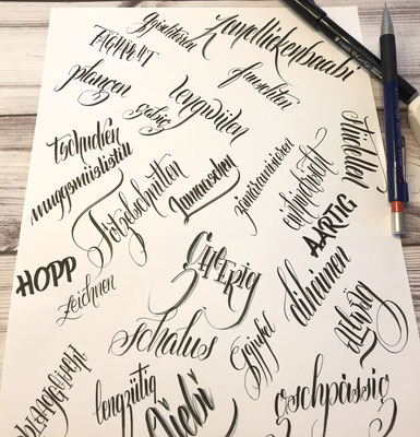 Simply-NeW-Art-Nelly-Wüthrich-Handlettering-Brushlettering-Faux-Calligraphy-Lettering-Kinder-Workshop-Bern-Brienz-Thun-Gwatt-Wichtrach