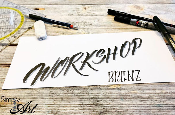 Simply-NeW-Art-Nelly-Wüthrich-Workshop-Brienz-Handlettering-Brushlettering-Faux-Calligraphy