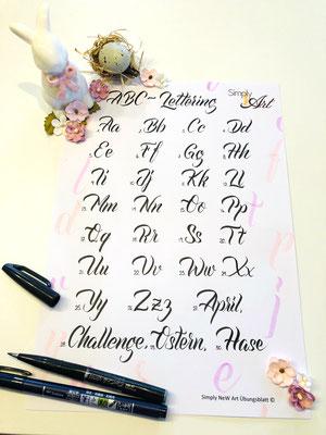 Simply-NeW-Art-Nelly-Wüthrich-Handlettering-Brushlettering-Alphabet,Challenge