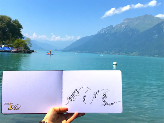 Simply-NeW-Art-Nelly-Wüthrich-Handlettering-Lettering-Brienz-Lake-Brushlettering-Summer-Mountain