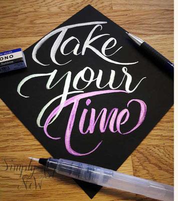 simply-new-art-brushlettering-watercolour-handlettering-takeyourtime