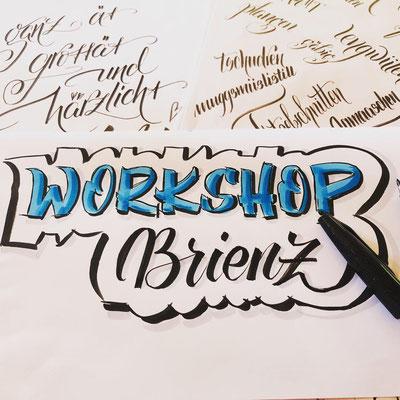 Simply-NeW-Art-Nelly-Wüthrich-Handlettering-Brushlettering-Faux-Calligraphy-Lettering-Kinder-Workshop-Bern-Brienz-Thun-Gwatt-Wichtrach