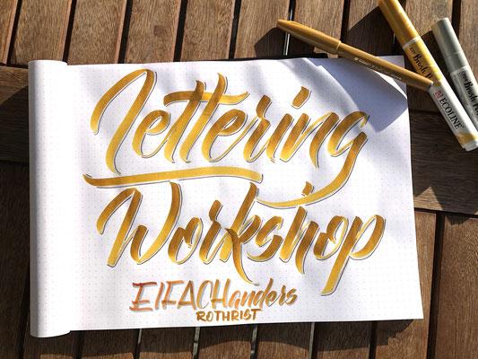 Simply-NeW-Art-Nelly-Wüthrich-Handlettering-Brushlettering-Faux-Calligraphy-Lettering-Kinder-Workshop-Bern-Brienz-Thun-Gwatt-Wichtrach-Eifach-anders-Rothrist
