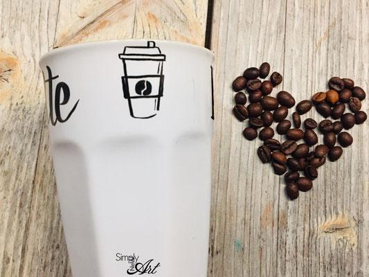 Simply-NeW-Art-Nelly-Wüthrich-Handlettering-Brushlettering-Kaffeetasse