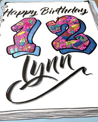 Simply-NeW-Art-Nelly-Wüthrich-Kehrli-Handlettering-Brushlettering-Calligraphy-Workshops-Kinder-Jugendliche-Erwachsene-Brienz-Thun-Gwatt-Wichtrach-Happy-Birthday