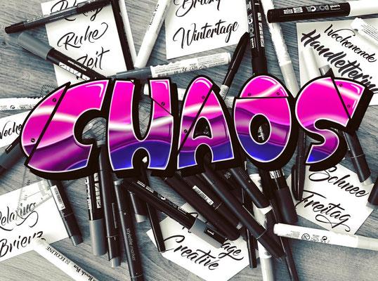 Simply-NeW-Art-Nelly-Wüthrich-Kehrli-Handlettering-Brushlettering-Calligraphy-Workshops-Kinder-Jugendliche-Erwachsene-Brienz-Thun-Gwatt-Wichtrach-Chaos-Graffiti