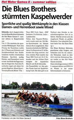 Schweriner Express den 16.08.2014