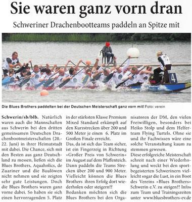 Schweriner Blitz den 06.07.2014