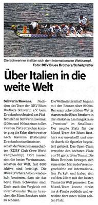 Schweriner Express den 10.09.2014